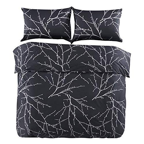Wake Tree Pattern Microfiber Bedding