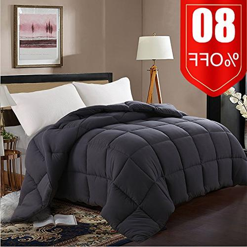 ultra down alternative quilted comforter
