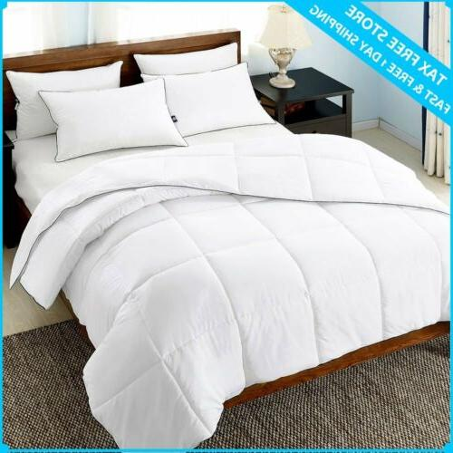 Ultra comforter Hypoallergenic Quilted Set Coverlet Bedding