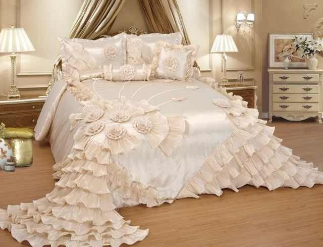 OctoRose Wedding Bedding Comforter Bedspread Set or BED