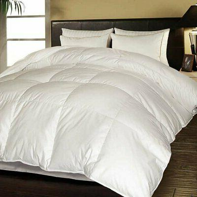 white goose feather and down comforter full