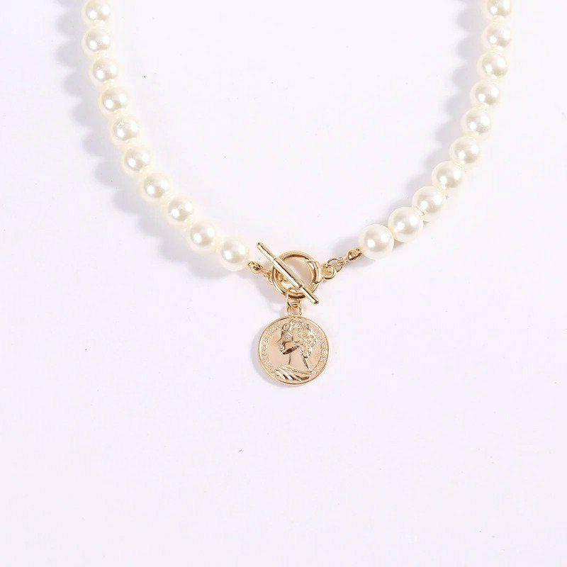 Coin Pendant Necklaces Womens