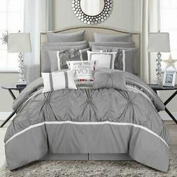 Legaspi 16-Piece Bed in a Bag Queen Comforter Set by Chic Ho