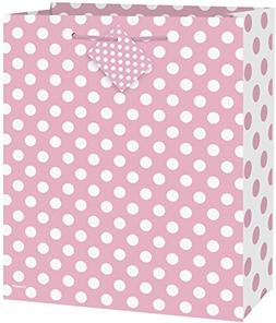 Light Pink Polka Dot Gift Bag