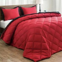lightweight solid comforter set