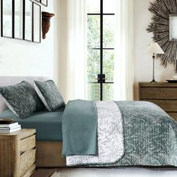 Southshore Fine Linens - Winter Brush Print Reversible Quilt