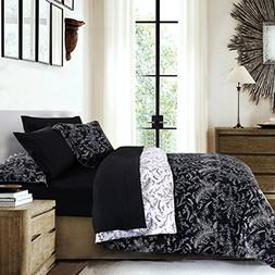 Southshore Fine Linens - Winter Brush Print Reversible 3-Pie