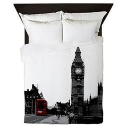 CafePress - London - Queen Duvet Cover, Printed Comforter Co