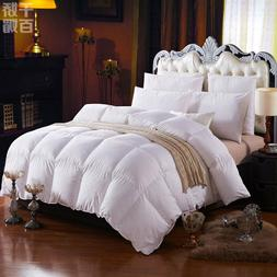 LUXURIOUS 1000TC HUNGARIAN GOOSE DOWN Comforter BAFFLE BOX
