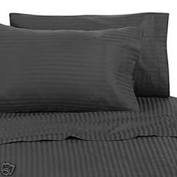 4 Piece LUXURIOUS 1200 Thread Count CAL KING Size Siberian G