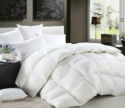 LUXURIOUS 1200 Thread-Count FULL- QUEEN Size Siberian GOOSE