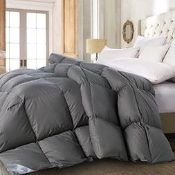 ROSECOSE Luxurious All Seasons Goose Down Comforter Queen Si