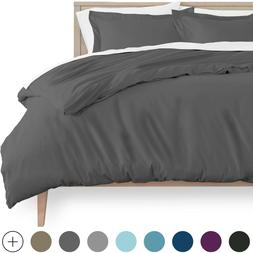 Luxury 1800 Series Double Brushed Ultra-Soft Duvet Cover and