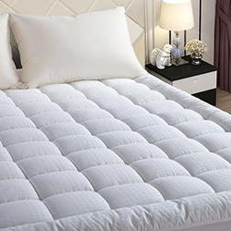 luxury hotel quilted mattress pad