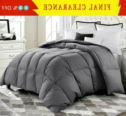 luxury goose down alternative comforter twin queen