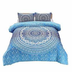 meeting story 3pcs mandala bohemian moonlight bedding