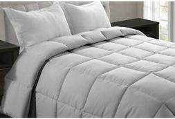 Microfiber Queen Size Comforter Polyester Bedding Warm Bed A