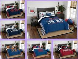 mlb licensed 3 piece full queen comforter