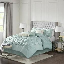 Madison Park MP10-639 Laurel 7 Piece Comforter Set44; Queen