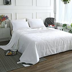 ZIMASILK Mulberry Silk Comforter with Cotton Covered Filled
