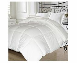 Natural Feather and Down Blend Comforter Bedding Cover Twin