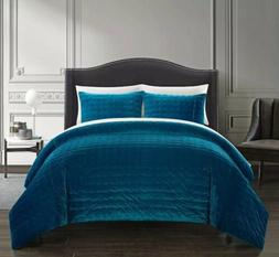 new chyna teal comforter set stitched quilted