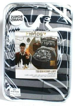 """NEW HARRY POTTER FULL QUEEN BED SET COMFORTER AND SHAMS  81"""""""