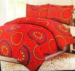 NEW OXFORD MICRO FIBER COMFORTER BLANKET QUEEN OR KING SIZE