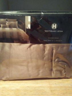 NEW Hotel Collection® Queen Comforter Cover Wide Stripe  ~