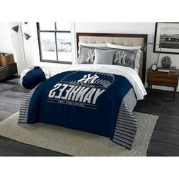 New York Yankees QUEEN/FULL size Comforter and 2 Shams