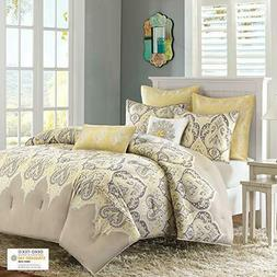 Nisha Comforter Set, Full / Queen, Yellow