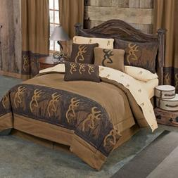 Browning Oak Tree Buckmark Comforter Set