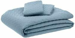 AmazonBasics Oversized Quilt Coverlet Bed Set - Full or Quee