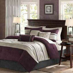 Madison Park Palmer 7 Piece Comforter Set California King, P