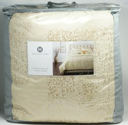 Hotel Collection Patina Gold Full / Queen Comforter + 2 Stan