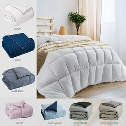 Bedsure Down Alternative Comforter Reversible Comforter Micr