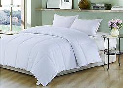 Polyester Medium Warmth Down Alternative Comforter Duvet Ins