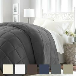 Premium Goose Down Alternative Comforter - 6 Classic Colors