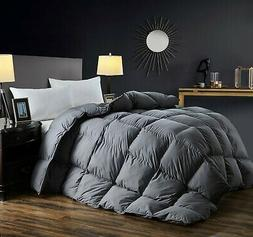 White Queen Goose Down Comforter 1200TC Cotton Shell 750+FP