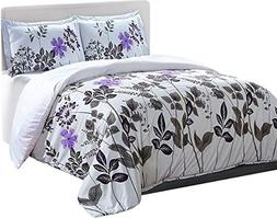 Utopia Bedding Printed Duvet-Cover-Set  - Brushed Velvety Mi