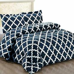 Utopia Bedding Printed Queen  Goose Down Alternative Comfort