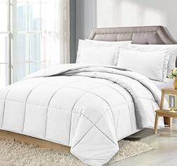 Clara Clark Luxury Down Alternative Comforter Set Hypoallerg