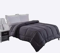 Ghooss Queen Down Alternative Quilted Comforter for Bedroom-