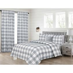 queen or king oversized plaid buffalo check
