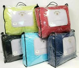 Reversible Comforter Microfiber 1-Piece Many Different Color