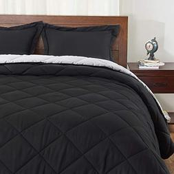 Basic Beyond Reversible Comforter Sets - 3 Piece Silky Soft