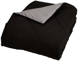 AmazonBasics Reversible Microfiber Comforter Full or Queen,