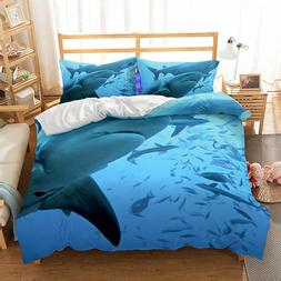 sea Shark <font><b>kids</b></font> <font><b>bedding</b></fon