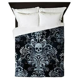 CafePress - Skulls - Queen Duvet Cover, Printed Comforter Co