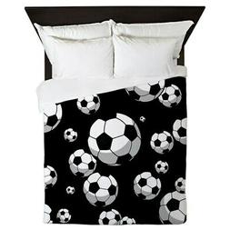 CafePress - Soccer - Queen Duvet Cover, Printed Comforter Co
